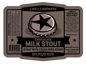 J. Wells Brewery Chocolate Milk Stout