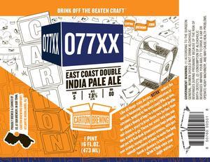 Carton Brewing Company 077xx