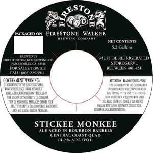 Firestone Walker Brewing Company Stickee Monkee