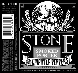 Stone Brewing Co Smoked Porter