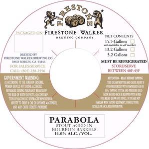 Firestone Walker Brewing Company Parabola