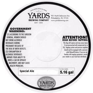 Yards Brewing Company Special Ale