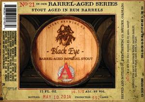 Avery Brewing Company Black Eye