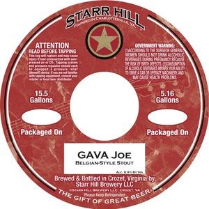 Starr Hill Gava Joe