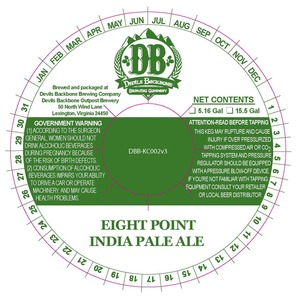 Devils Backbone Brewing Company Eight Point India Pale Ale