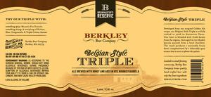Berkley Beer Company Triple