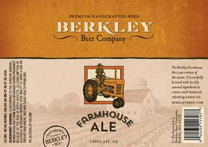 Berkley Beer Company Farmhouse Ale