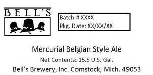 Bell's Mercurial Belgian Style