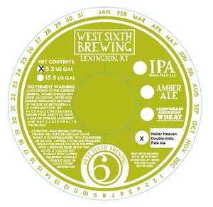 West Sixth Brewing Heller Heaven Double India Pale