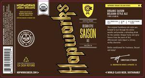Hopworks Urban Brewery Belgian Style Saison