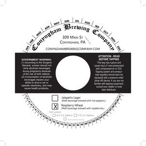 Conyngham Brewing Company Raspberry Wheat