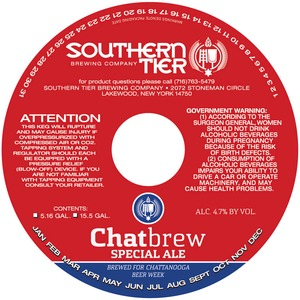 Southern Tier Brewing Company Chatbeer