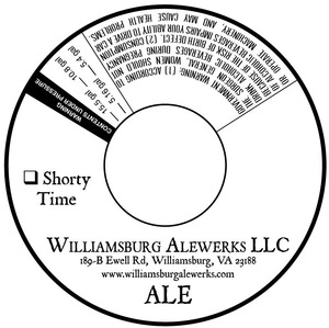 Williamsburg Alewerks Shorty Time