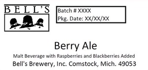 Bell's Berry Ale