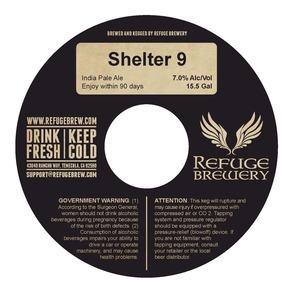 Refuge Brewery Shelter 9