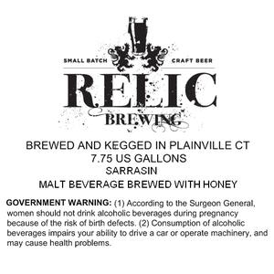 Relic Brewing Sarrasin