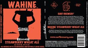 Wahine Strawberry Wheat Ale