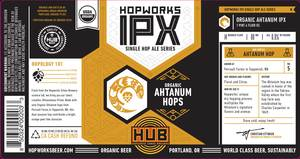 Hopworks Urban Brewery Ipx