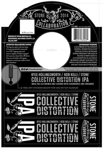 Stone Brewing Co Collective Distortion IPA