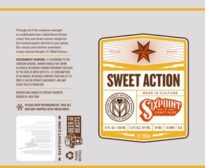 Sixpoint Craft Ales Sweet Action