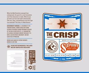 Sixpoint Crisp Lagers The Crisp