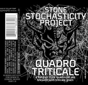Stone Stochasticity Project Quadrotriticale