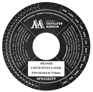 Widmer Brothers Brewing Company Pilsner April 2014