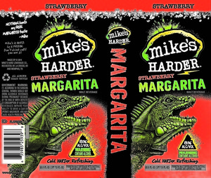 Mike's Harder Strawberry Margarita