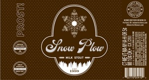 Widmer Brothers Brewing Company Snow Plow