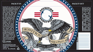 Operation Homefront Homefront India Pale Ale