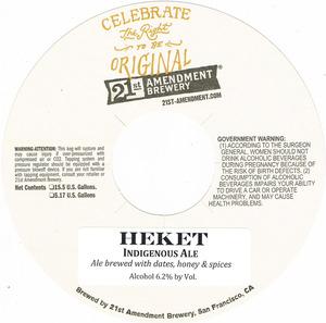 21st Amendment Brewery Heket