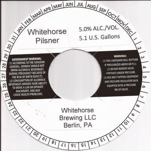 Whitehorse Brewing LLC Whitehorse Pilsner