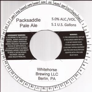 Whitehorse Brewing LLC Packsaddle Pale Ale