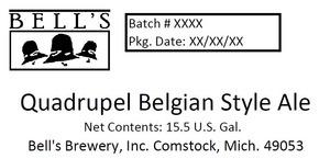 Bell's Quadrupel Belgian Style