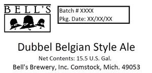 Bell's Dubbel Belgian Style