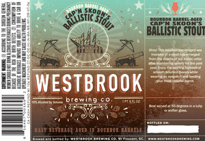 Westbrook Brewing Company Cap'n Skoon's Ballistic