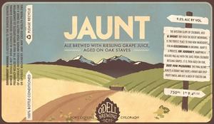 Odell Brewing Company Jaunt