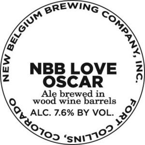 New Belgium Brewing Company Nbb Love Oscar