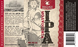 Wallace Brewing Company Vindicator IPA
