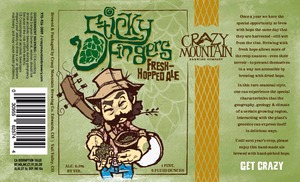 Crazy Mountain Sticky Fingers