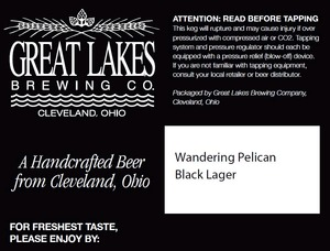 The Great Lakes Brewing Co. Wandering Pelican