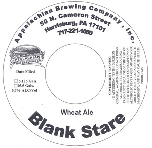Appalachian Brewing Co Blank Stare