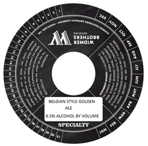 Widmer Brothers Brewing Company Belgian Style Golden April 2014