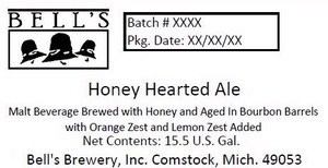 Bell's Honey Hearted Ale