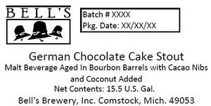 Bell's German Chocolate Cake Stout