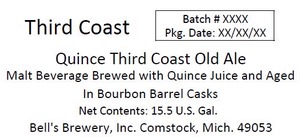 Third Coast Quince Third Coast Old Ale