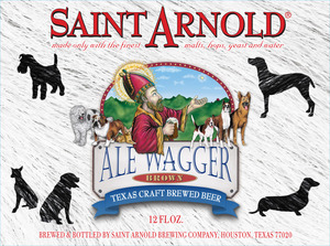 Saint Arnold Brewing Company Ale Wagger Brown
