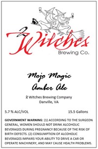 2 Witches Brewing Company Mojo Magic