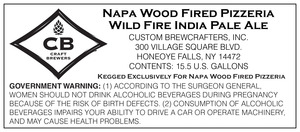 Napa Wood Fired Pizzeria Wild Fire