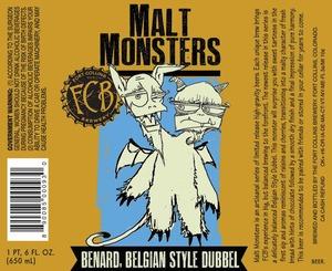 Fort Collins Brewery Benard Belgian Style Dubbel